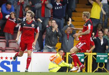 Bristol City v Crystal Palace - npower Football League Championship