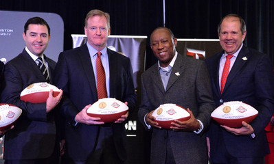 NFL: Handoff to Houston-Press Conference