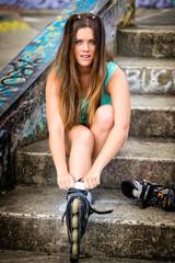 Inline Skates Girl