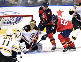NHL: Boston Bruins at Florida Panthers