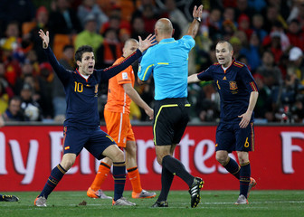 Holland v Spain FIFA World Cup Final - South Africa 2010