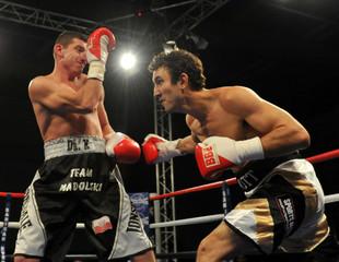 Lee Haskins v Jason Booth British Bantamweight Title