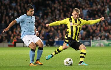 Manchester City v Borussia Dortmund - UEFA Champions League Group D