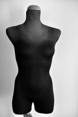 female mannequin torso