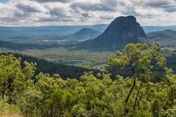 Glass House Mountains National Park landscape, Queensland, Australia