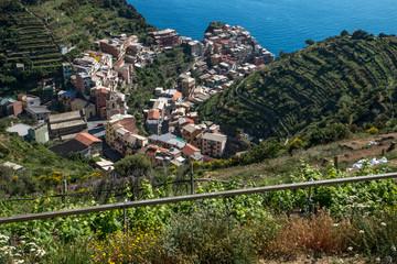 Village des Cinque Terre en Italie