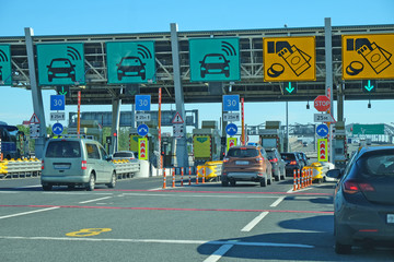 area pay tolls on the toll road