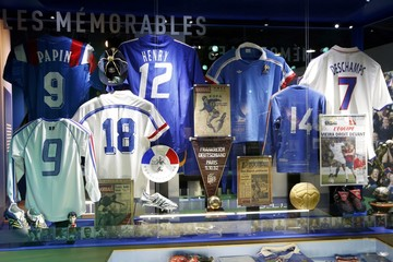 Football Soccer - UEFA Euro 2016 soccer tournament -  New museum dedicated to the French national soccer team in Clairefontaine