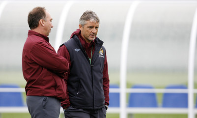 Manchester City Training