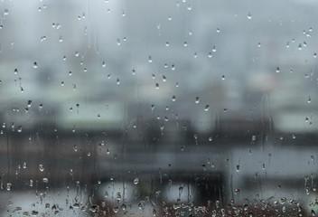 Rainy season is blue day