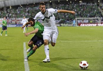Slovenia v Northern Ireland UEFA Euro 2012 Qualifying Group C