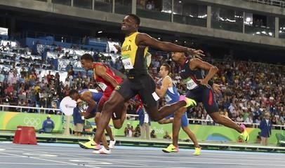 Athletics - Men's 110m Hurdles Final