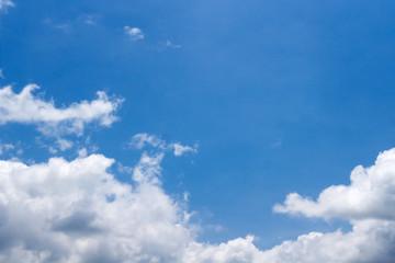 ฺBlue sky and white clouds