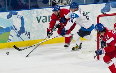 Men's Hockey Finland Beats Czech 2-0 - Vancouver 2010