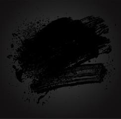 colored brush black01