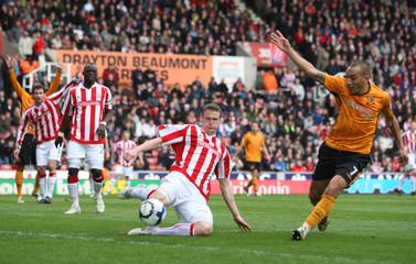 Stoke City v Hull City Barclays Premier League
