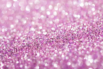 Pink background with sparkles