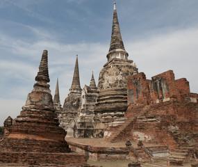 Ayutthaya Historical Park, old city of Ayutthaya, Thailand