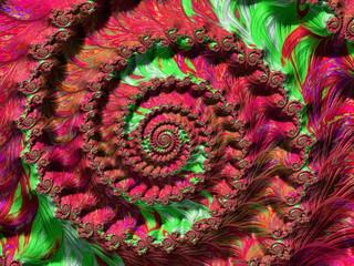Spiral Fractal Image