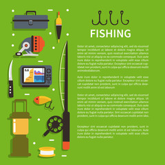 Fishing banner