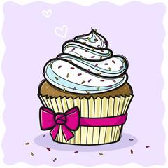 Cupcake Vektor