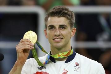 2016 Rio Olympics - Artistic Gymnastics - Men's Floor Victory Ceremony