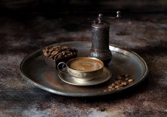 Coffee in oriental style