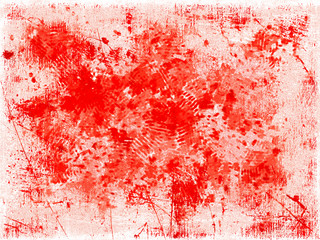 Red blots background