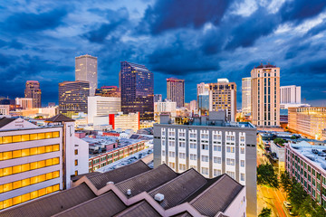 New Orleans, Lousiana, USA Skyline.