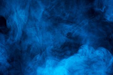 Blue vapor