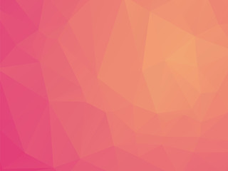 soft red geometric abstract pattern