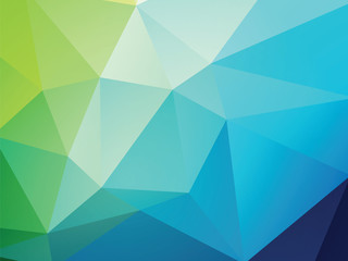 geometric blue green texture background