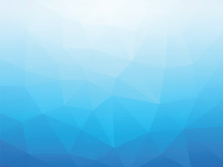 abstract blue triangular background