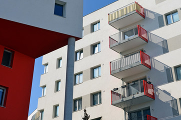 Balkon, Wohnhaus
