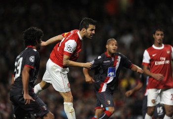 Arsenal v Sporting Braga UEFA Champions League Group Stage Matchday One Group H