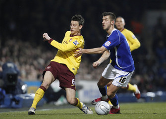 Ipswich Town v Arsenal Carling Cup Semi Final First Leg