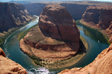 Horseshoe band Arizona on Colorado river, USA
