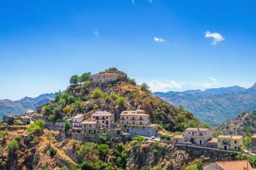 Sicilian picturesque village, Savoca,Sicily ,Italy.