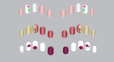 manicure samples