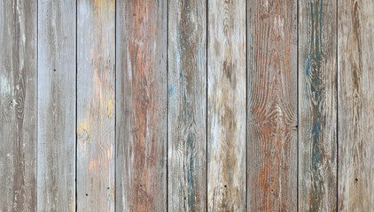 Old shabby boards background