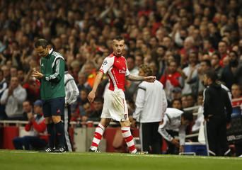 Arsenal v Besiktas - UEFA Champions League Qualifying Play-Off Second Leg