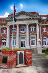 The 1913 De Soto County Courthouse in Arcadia, FL