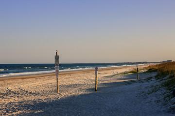 Fernandina Beach on Amelia Island FL on the Atlantic coast just south of the Georgia state line.
