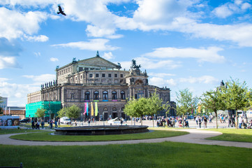 Semperoper, Opera of Dresden, Germany
