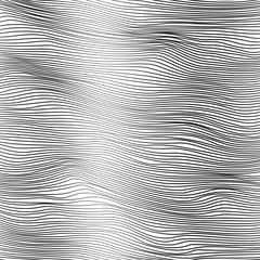 Abstract background - striped waves