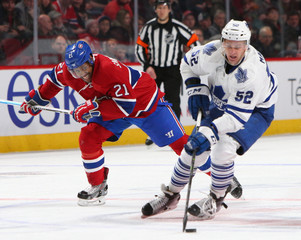 NHL: Toronto Maple Leafs at Montreal Canadiens
