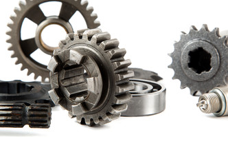 Metal parts for machinery