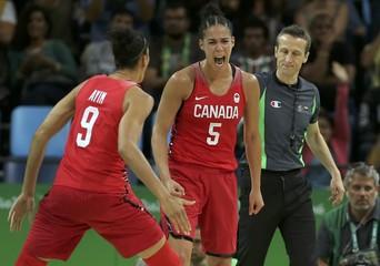 Basketball - Women's Quarterfinal France v Canada