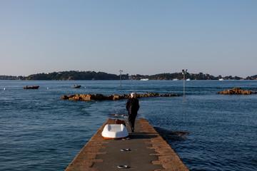 Embarcadère pour Lîle de Bréhat, Bretagne