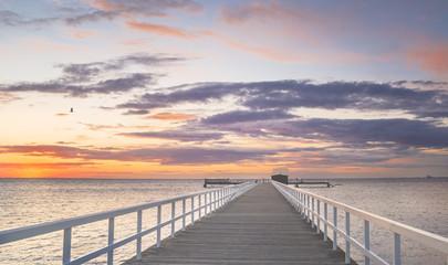 Atardecer en la playa / Sunset at beach